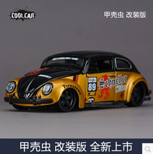 Volkswagen Beetle modified version no.89 1:24 Maisto car model alloy metal diecast Vintage Painting Classic cars VW kids toy