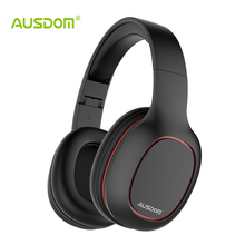 Buy Ausdom M09 Bluetooth Headphone Over-Ear Wired Wireless Headphones Foldable Bluetooth 4.2 Stereo Headset Mic Support TF Card for $24.99 in AliExpress store