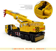 New high quality alloy Engineering Vehicle model Wholesale children toy cars- CRN Crane1:87 mega lifter kaidiwei