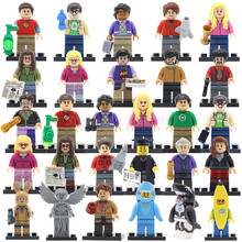 POGO Single Sale Figure THE BIG BANG Theory TV TBBT Building Blocks Soldiers Classic Educational Toys For Children Gifts(China)