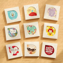 (38 pieces)/Lot Kawaii Cartoon Mini Paper Stickers Merry Christmas Decoration DIY Scrapbooking Sticker Stationery