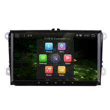 android 6.0 radio VW car dvd player vw passat b6 polo golf 5 vw golf 4 touran t5 caddy sharan with GPS navigator steering-wheel