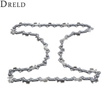 "Buy DRELD Metal Chainsaw Chain Blade 3/8"" Pitch Sharp Blade Quickly Cut Wood Stihl 009 010 017 019 023 MS170 MS180 for $5.59 in AliExpress store"