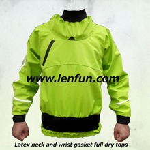 LENFUN Whitewater kayak,dry cags , green color dry tops,boating,paddle jackets,Touring,Kayaking ,Sea Kayak,Flatwater,Rafting