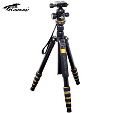 Camera Tripod Kamay K-888 SLR Tripod for Nikon Canon Aluminum Alloy Portable Travel Tripod Telescopic Camera Tripod Stand Holder