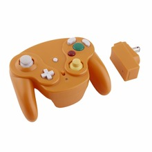 Wireless Bluetooth 2.4GHz Gamepad Portable Gaming Gamer Controller Gamepad for Wii for Nintendo GameCube