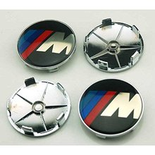 4pcs 68mm Car Styling Accessories Emblem Badge Sticker Wheel Hub Caps Centre Cover M for BMW X1 X3 X5 X6 M3 M5 M6 E46 E39 E36