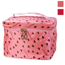 ladies toiletry bags love cosmetic bag high quality travel toiletry bag women's cosmetic bag maleta de maquiagem great(China)