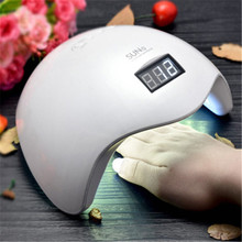 New Gel Nail Dryer Lamp 48W SUN5 White Light Profession Manicure LED UV Dryer Lamp Fit Curing All Nail Polish Nail Gel Art Tools
