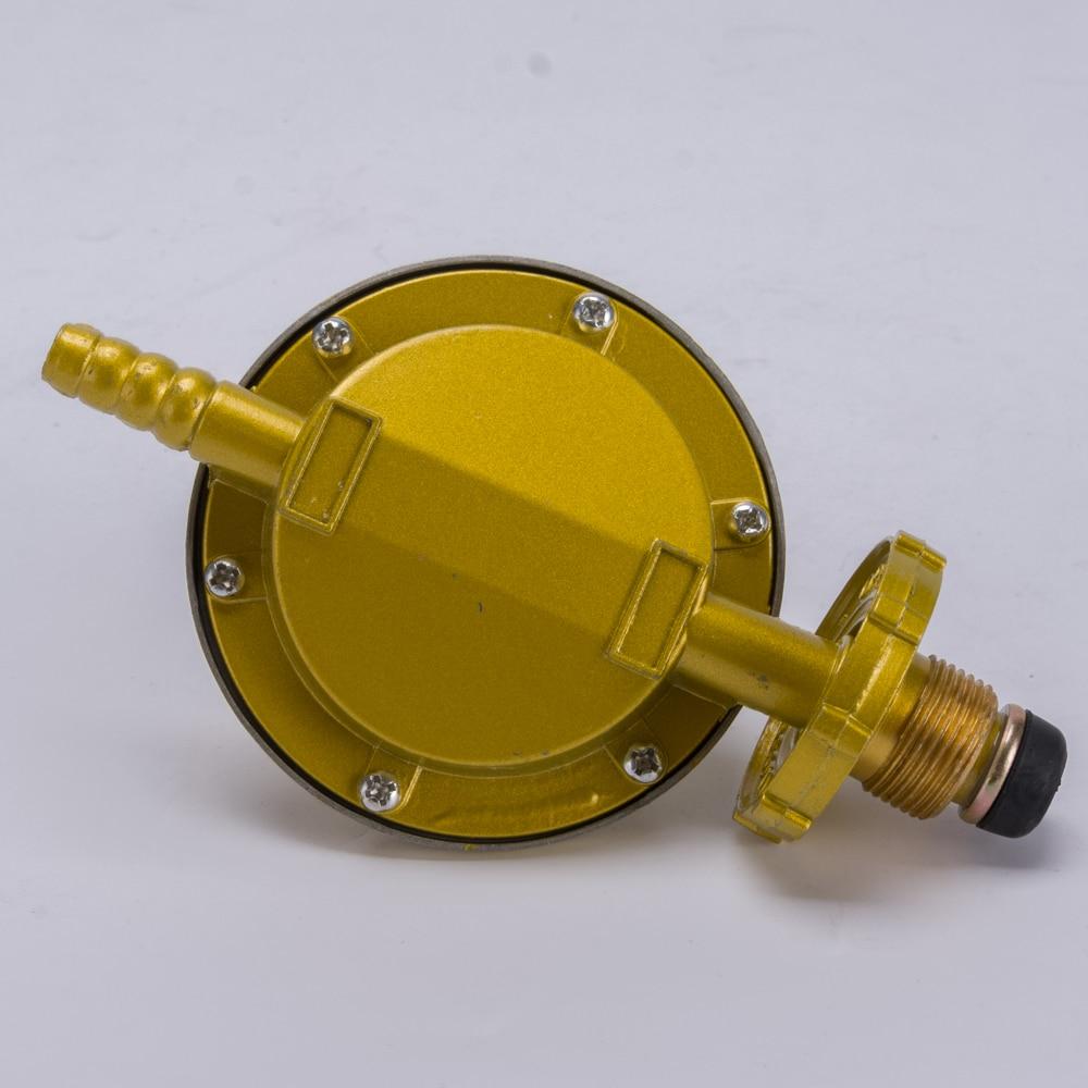 Household bottled liquefied petroleum gas regulator