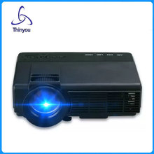 Thinyou LCD Projector 1000LM 800 x 480p Portable 1080P Multimedia Player for Home Office Outdoor Support PC USB HDMI AV VGA SD