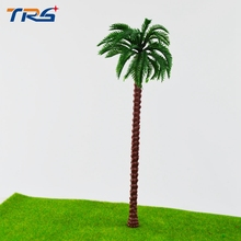 20X architectural model palm tree 180mm artificial plastic model palm tree(China)
