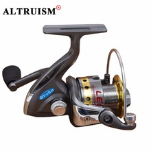 Altruism 2015 new quality full metal spool spinning baitcasting reel sea carp fishing reel china saltwater fishing spinning reel(China)