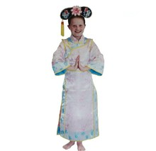 Unique Girls Cosplay Costumes Girls Ancient China Princess Costumes Old Style Cheongsam For Halloween