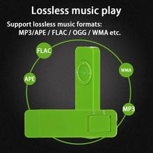 8G/16G Portable Rechargeable Lossless HiFi Sound MP3 Player Built-in Microphones Use As U Disk Voice Recorders(China)