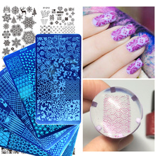 1 Pcs Nail Stamping Plates 2017 New Arrival Lace/Cartoon/Animal/Flowers Patterns Nail Art Decoration Polish Templates SAXYZ01-32