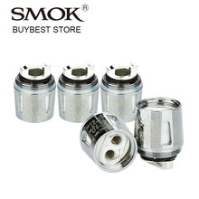 5pcs SMOK V8 Baby-X4 Quadruple Core 0.15ohm V8-Baby X4 Coil Head for SMOK TFV8 Baby/Big Baby Atomzier Electronic Cigarette Vape