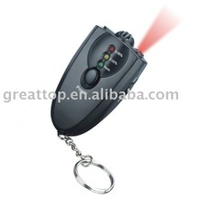 orange led alcohol tester with keychain