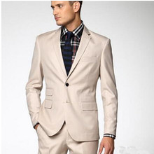 Haute couture men suits new design groom wedding suits tuxedos good quality formal business occasions suits(jacket+vest+pants)(China)