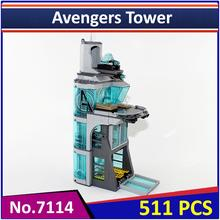 Decool 7114 Compatible Legoes Super Heroes Avenger Attack on Avengers Tower 76038 Building Blocks Educational Toys for Children(China)