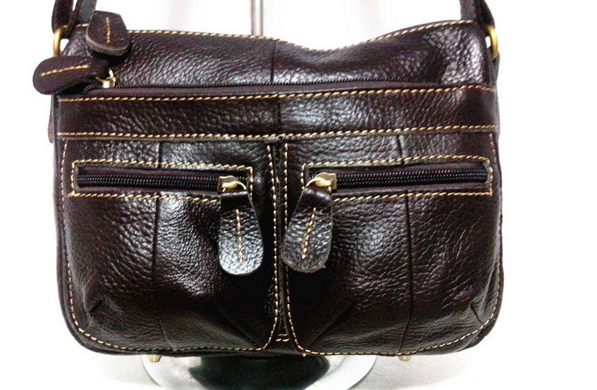 dm prime fênix bolsa preta de couro legitimo 100%