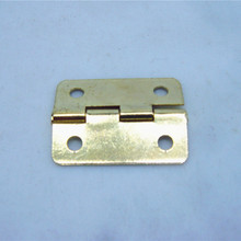 50pcs 16*22mm new hinge gold hinge for wooden box small box hinges