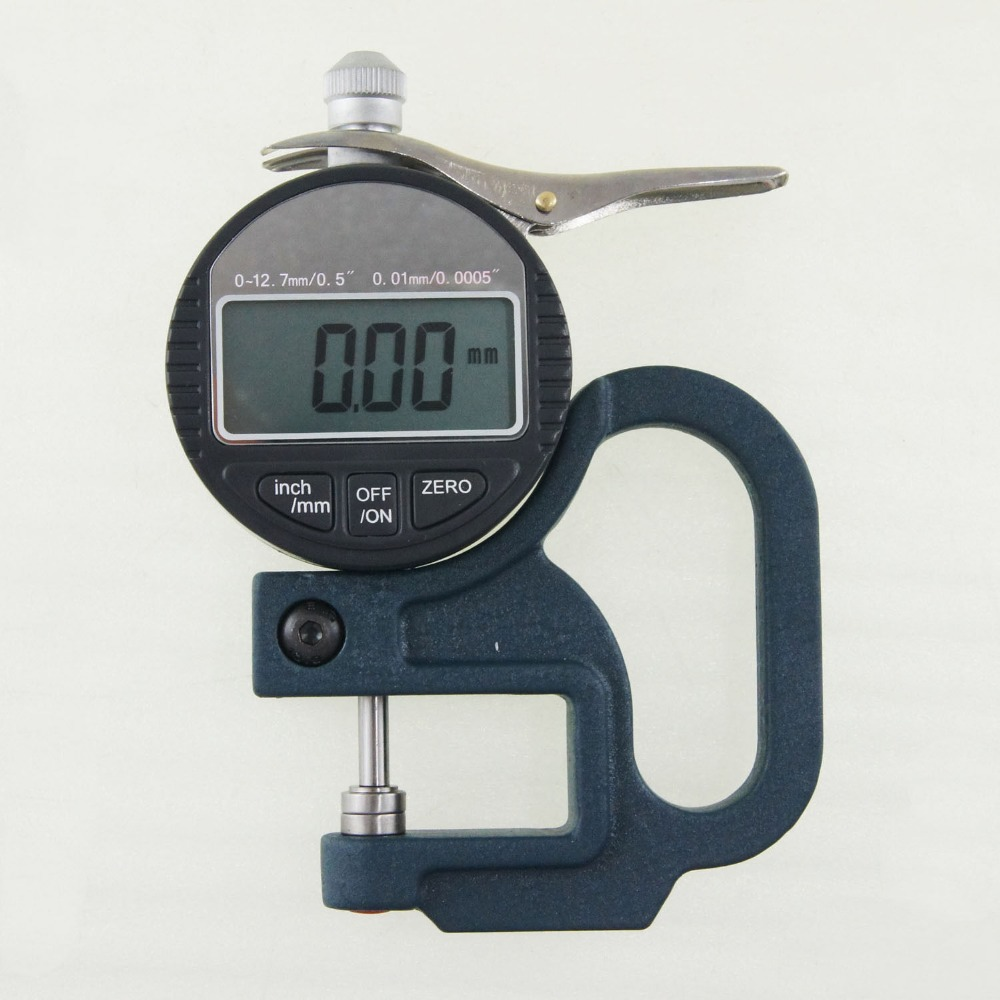 0-12.7mm Precision Digital Thickness Measuring Micrometer Caliper 0.01mm<br>