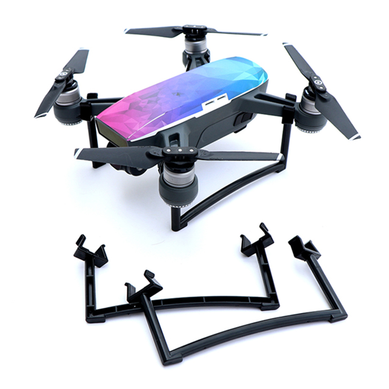 Landing Gear Drone Accessory Extended Stand Heighten Protector Frame holder For Dji Spark