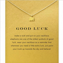 good luck animal elephant necklace fashion jewellery elephant charm necklace handmade necklace women Nb