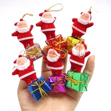 Christmas Decor Hot 5 pcs/set Christmas tree decoration Santa claus pendant ornaments new year decor Festival Supplies Wholesale