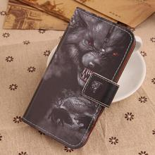 ABCTen Book Design Painting Shell PU Leather Cover Cell Phone Flip Case For LG Class H650 Zero F620 5