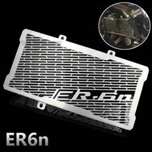 Motorcycle stainless steel radiator guard protector grille grill cover for Kawasaki ER6F ER6N 2006 2007 2012-2016
