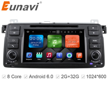 Eunavi HD Octa Core Android 6.0 For BMW E46 M3 Rover 75 Car DVD GPS Wifi 4G Radio RDS Canbus RAM 2GB ROM 32GB 1 Din(China)