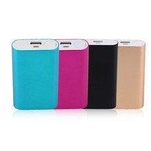5600mah Portable Charger External Power Bank DIY Case 2*18650 Battery Powerbank Supply Charger Smart Phones Without Battery
