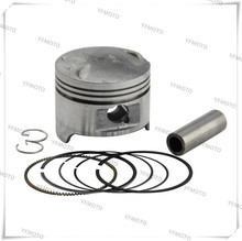 Motorcycle Piston Kit with Pin Rings Clips Set For Honda STEED400 STEED 400 NV400 NV 400 Standard