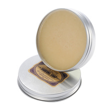 Large Capacity Men's Round Facial Shaving Soap Mustache Shaving Cream Goat Milk Beard Soap Barbering Soap After Shaving for Men