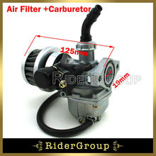 PZ19 Carburetor 35mm Air Filter 50cc 70cc 90cc 110cc ATV Quad Roketa Sunl Go kart