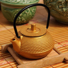 50ml Mini Iron Kettle Cast Iron Teapot 1910 Small Pot Of  Kung Fu Tea Sets Tea Pet Home Decoration Gifts