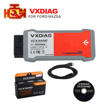 2017 VXDIAG VCX NANO for Ford for Mazda 2 in 1 with IDS V96 Perfect replacement for Ford VCM 2 Update by CD free shipping