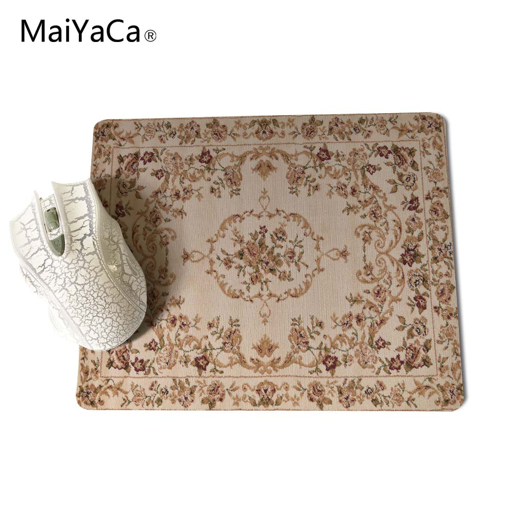 MaiYaCa NEW Customized Supported Fashion Design Cool Persian Rugs Mouse Mats Anti-Slip Rectangle Mouse Pad 250X290 MM 5