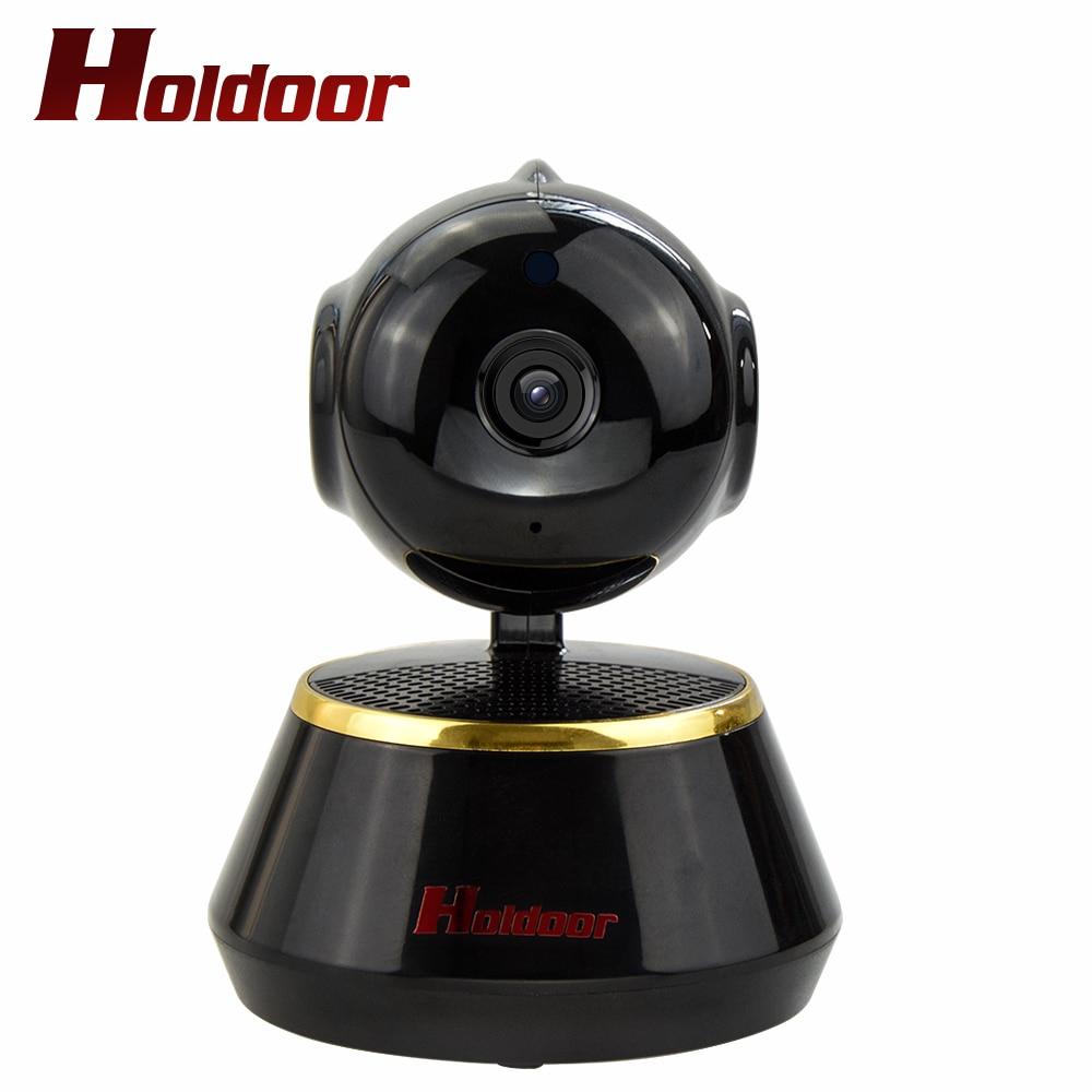 Holdoor 720P HD Wi-Fi IPC PT Camera WiFi Wireless Network CCTV Cam Baby Moniter Night Vision 2 Way Audio Motion Detection Smart<br>