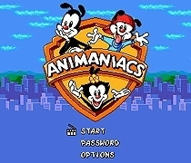 Sega 16bit MD games card: Mickey Mouse - Animaniacs For 16 bit Sega MegaDrive Genesis Game console EUR/USA Case