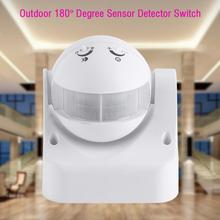 High Sensitive  Outdoor  Waterproof 180 Degree Rotary Home Security Automatic LED  Motion Sensor Detector Switch