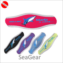 Free shipping ! 2pcs/lot Colorful Snorkeling equipment long hair protector cover dive mask strap cover neoprene cover