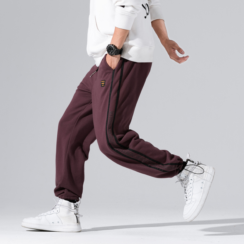 Striped Pant Mens 2018 Hip Hop Casual Joggers Sweatpants Trousers Male Street Fashion Mens Trousers Y1062