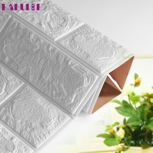 My House PE Foam 3D Wallpaper DIY Wall Stickers Wall Decor Embossed Brick Stone 2017 New Hot Sell 17Tue23