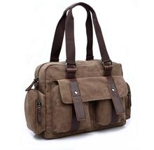 yesetn bag 121316 new hot man big canvas bag male casual shoulder bag