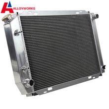 Fast delivery High Capacity Racing parts 3 ROW 3CORE ALUMINUM PRO RADIATOR FOR 79-93 FORD MUSTANG MANUAL 1979-1993 RACING