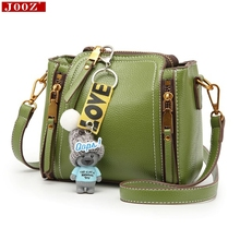 JOOZ small bag 2017 New Arrived Trend Leather bucket bag Korean Mini all match crossbody bags women Shoulder Bags/ Dolls Toy(China)