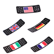 Car Truck Motocross Motorcycle Stickers And Decals American/Italian/German/British/French Flag Sticker Wall Window Decoration